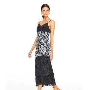 La Maison Talulah Black FELICIA FLORAL Daisy Dress